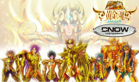 Saint Seiya Soul of Gold 1080p